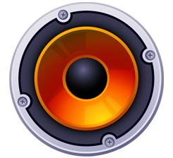 Boom Box Speaker Icon - DJ Services