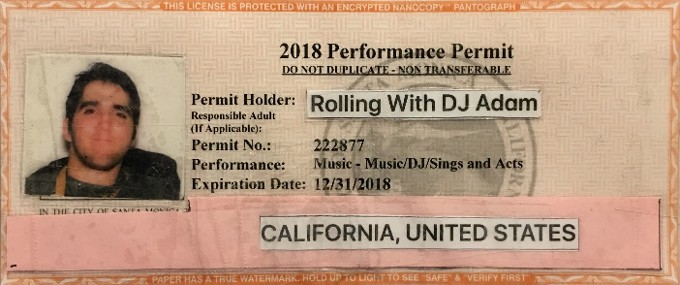 2018 Performance Permit